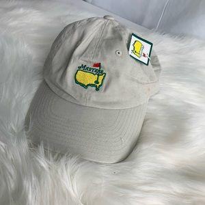 National Masters Golf Hat USA Needle Strap back